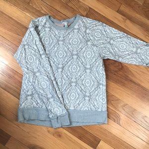 J crew damask sweatshirt